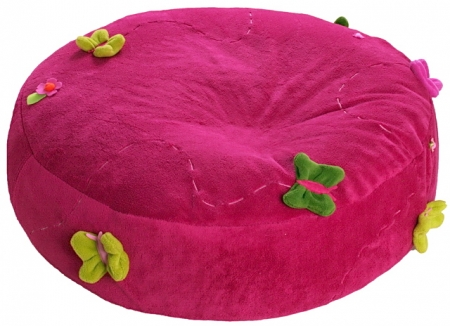 Sitzsack Dark Pink Meadow