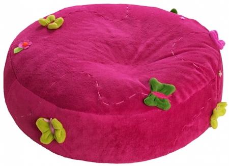 Sitzsack Dark Pink Meadow