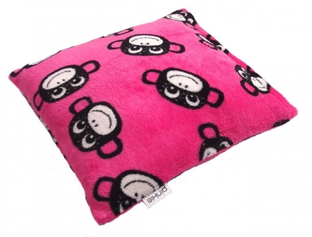 Zierkissen Monkey Pink