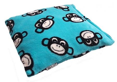 Zierkissen Monkey Turquoise