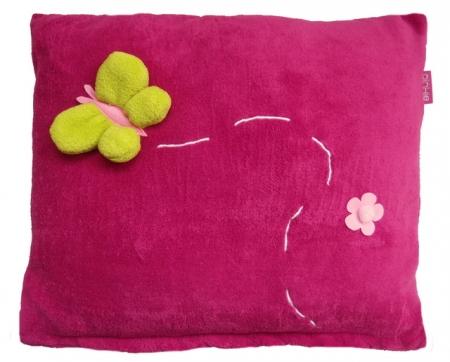 Zierkissen Dark Pink Meadow - größer