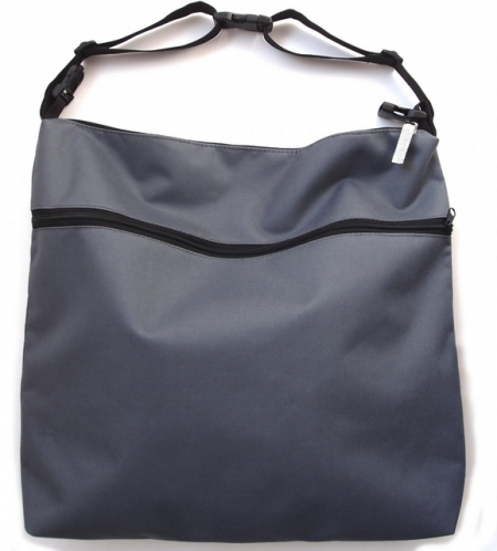 Wickeltasche Dark Grey