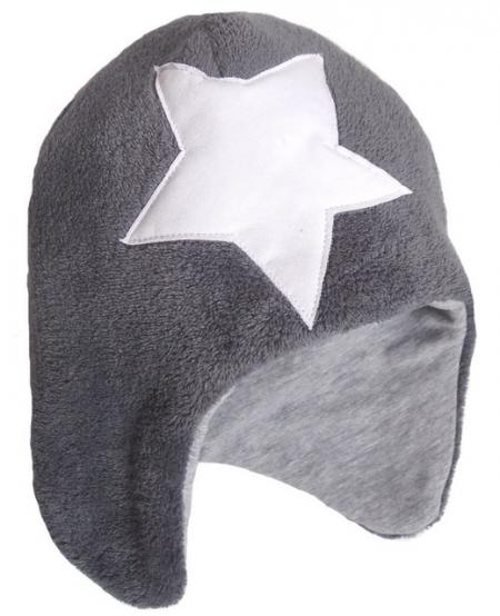 Mütze Star/Grey