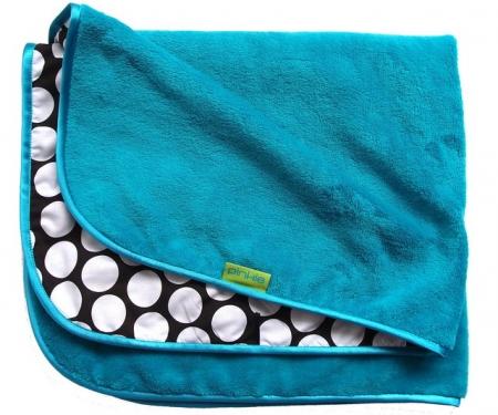 Decke Turquoise Dots II.