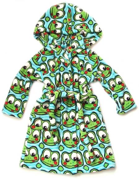 Bademantel Pinkie Frog
