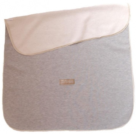 Decke Pinkie Shine Light Grey