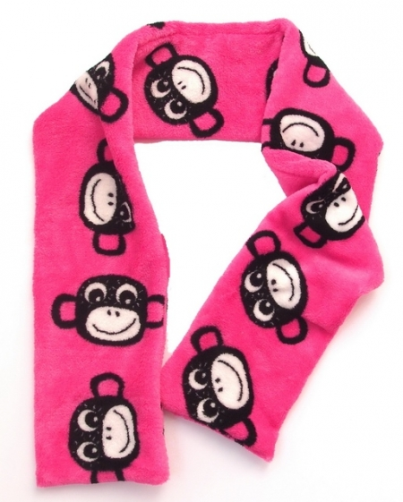 Schal Monkey Pink