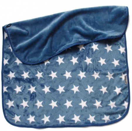 Decke Pinkie Soft Denim Star