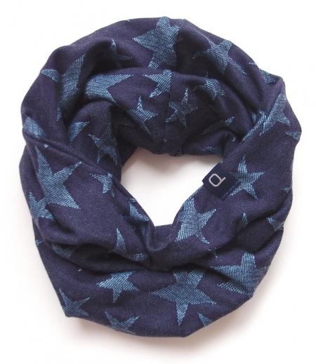 Schlauchschal Jeans Blue Stars