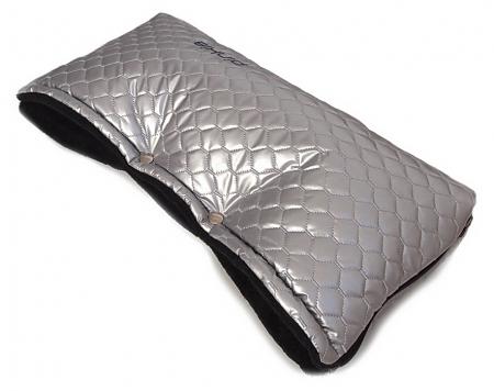 Handwärmer Black Silver