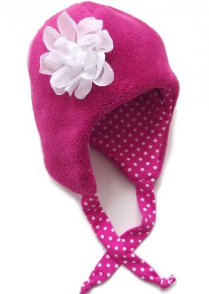 Wintermütze Winter Flower-Pink