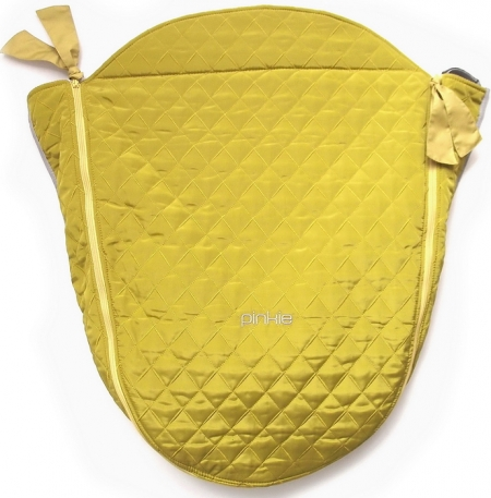 Beindecke Gold Sqare mit Funktionsschicht