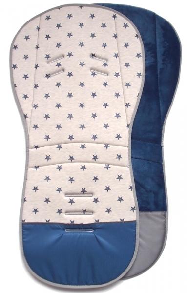 Verlängerte Sitzeinlage Little Stars Blue