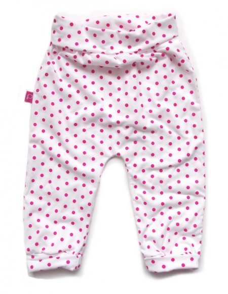 Babyhose White Pink Bullets