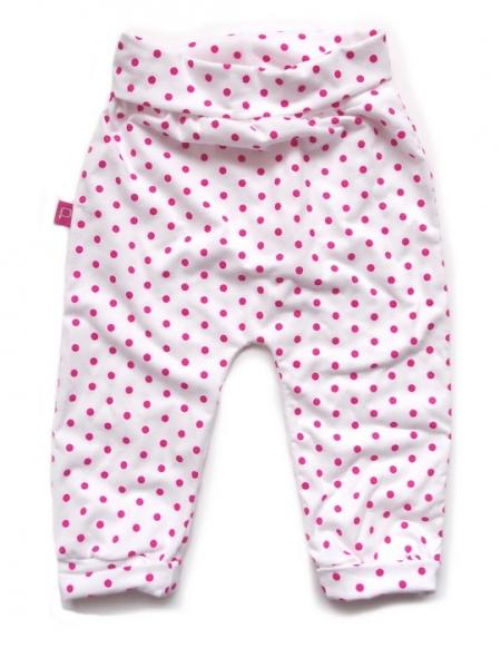 Babyhose White Pink Bullets