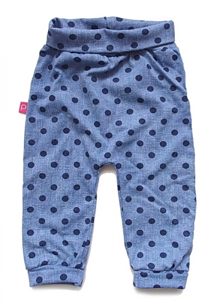 Babyhose Jeans Dots