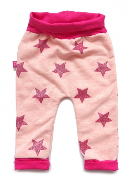 Babyhose Pink Star
