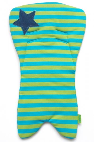 Einlage für die Babyschale Dark Blue Stripes