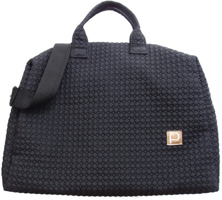 Wickeltasche Small Black Comb XL