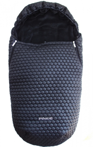 Winterfußsack Big Comb Black