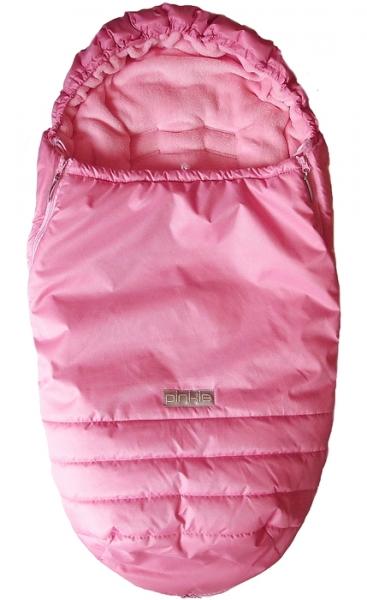 Winterfußsack Pinkie Plain Rose Pink