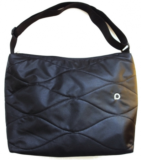 Wickeltasche Black Wave