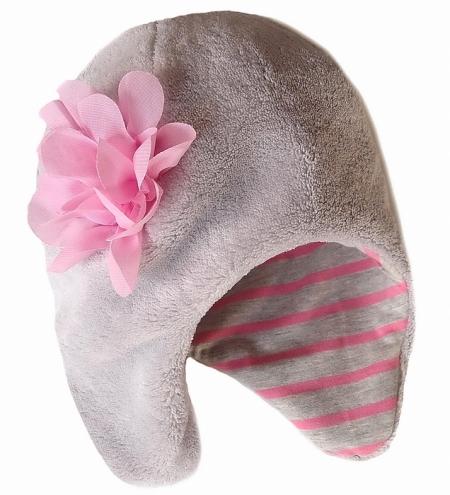 Mütze Snow Flower/Light Pink