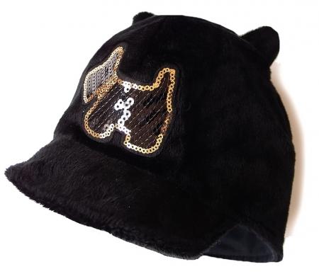 Mütze mit Schirm Black Dog