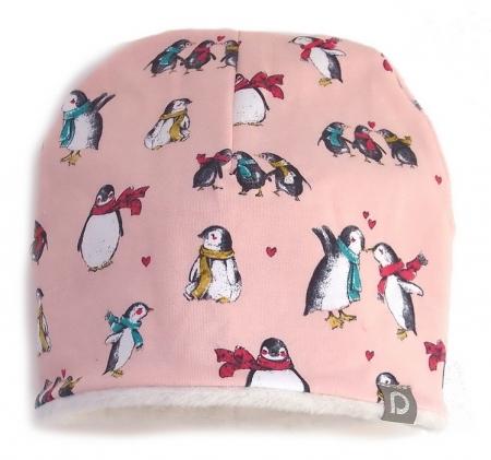 Mütze Pink Penguin