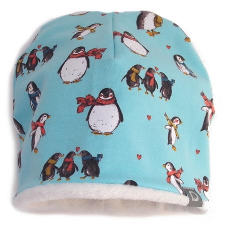 Mütze Turquoise Penguin