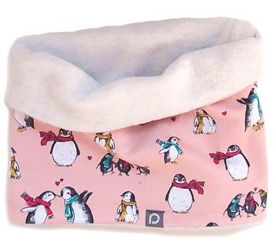 Schlauchschal Pink Penguin