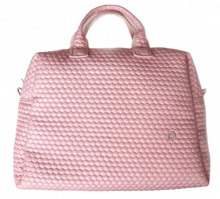 Wickeltasche Light Pink Comb M