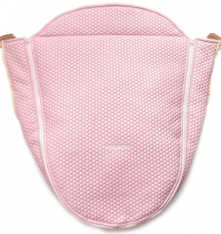 Warme Beindecke Light Pink Comb