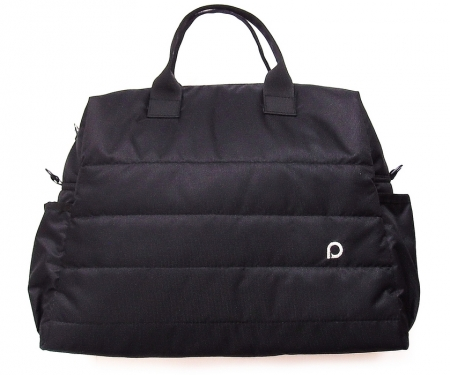 Wickeltasche Plain Black M