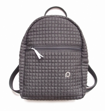 Kinderrucksack Little Square Dark Grey