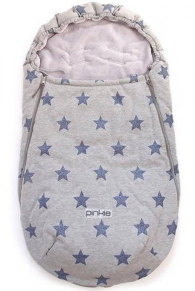 Dünner Fußsack Blue Star