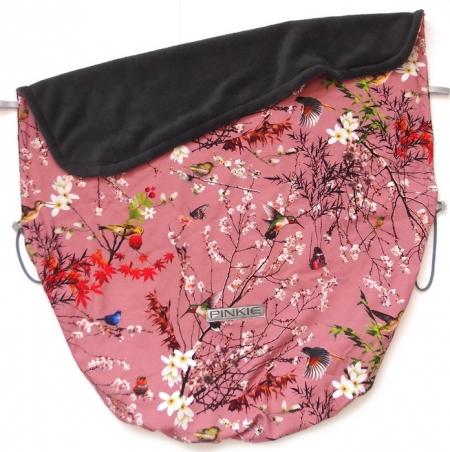 Zubindbare Decke Pink Japan