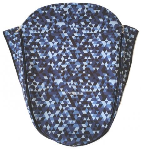Beindecke Blue Triangle mit Funktionsschicht