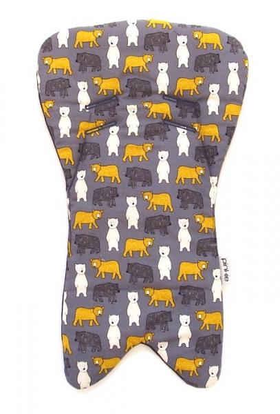 Einlage in die Babyschale Yellow Bear