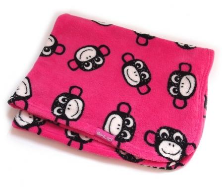 Decke Monkey Pink
