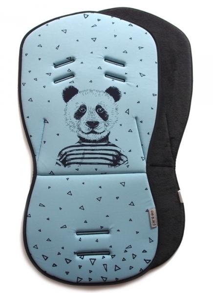Sitzeinlage Mister Panda Blue