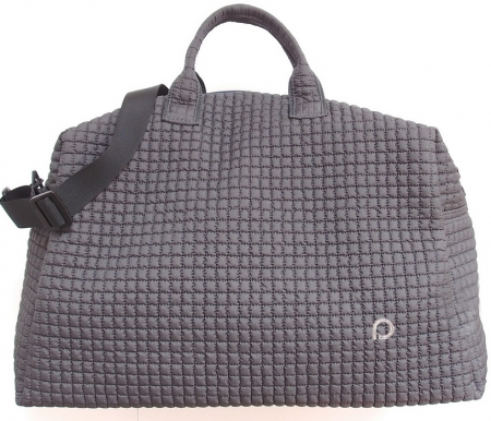 Wickeltasche Little Square Dark Grey XL