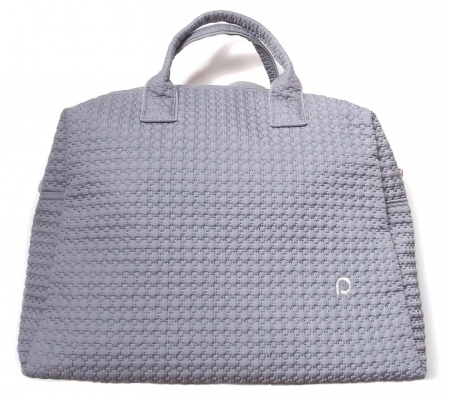 Wickeltasche Small Grey Comb M