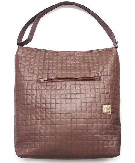 Grosse Wickeltasche Little Square Brown