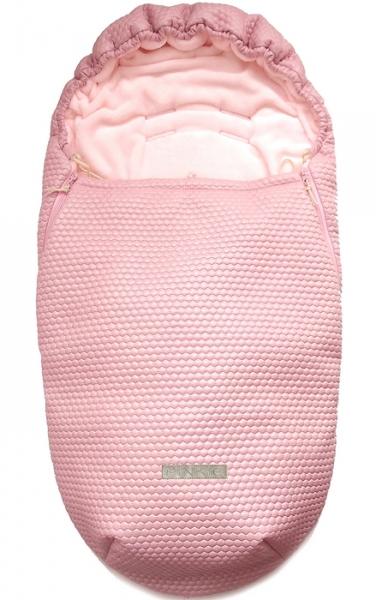 Fußsack Light Pink Comb