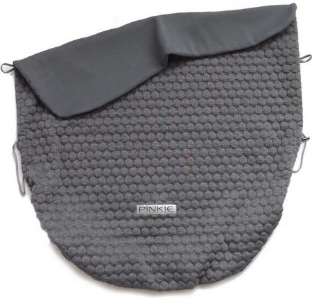 Zubindbare Decke Circle Grey