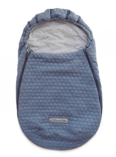 Fußsack Circle Blue 0-12 Monate