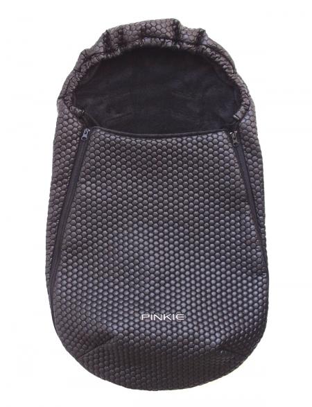 Fußsack Black Comb 0-12 Monate