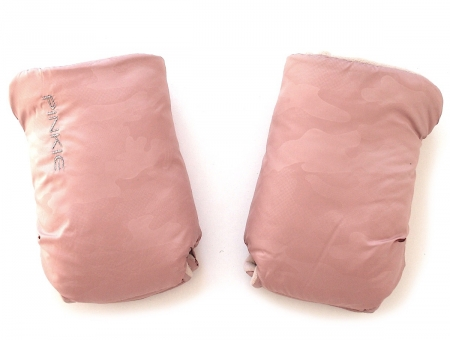 Handschuhe Pink Camo