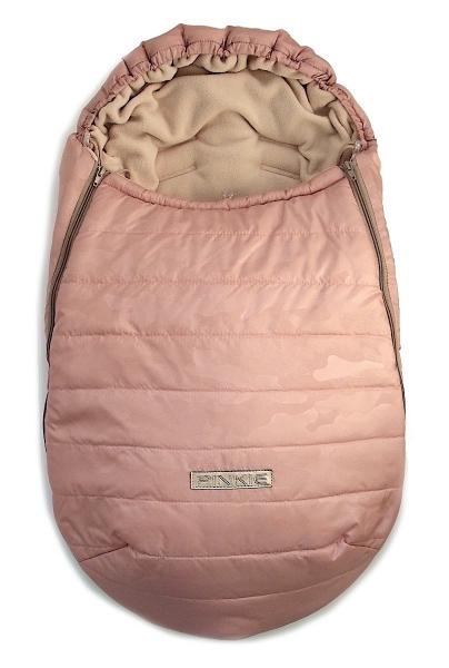 Winterfußsack Pink Camo 0-12 Monate